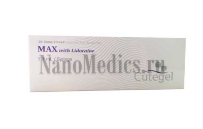 CUTEGEL Max with Lidocaine, 1.1ml